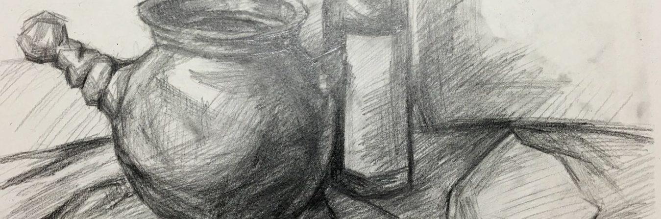 Kettle & Bottle - Drawing Class