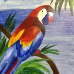 Parrot - Drawing/Painting Class