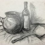 Kettle & Bottle - Drawing Class